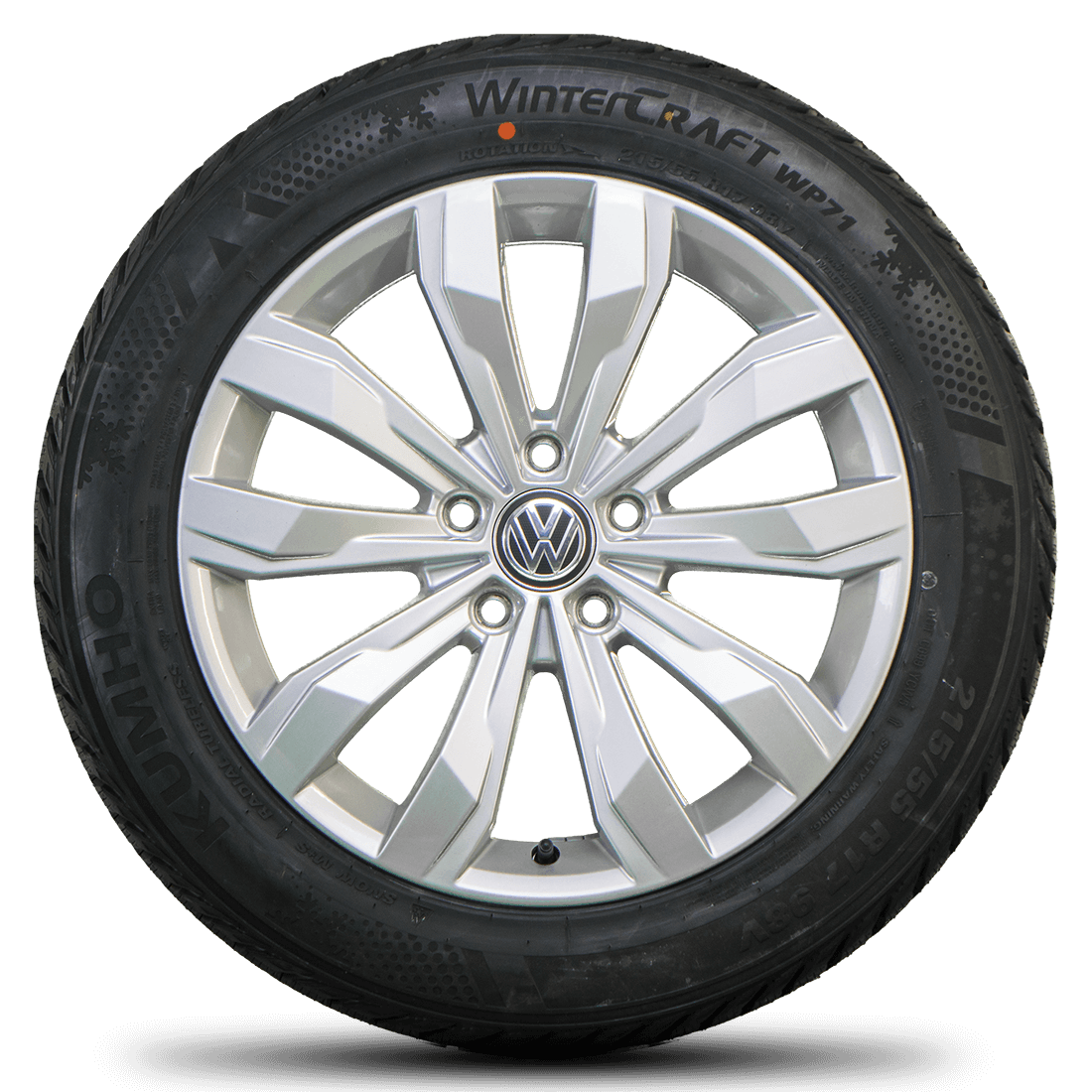 VW 17 inch rims T-Roc A1 Kulmbach aluminum rims winter tires new winter  wheels