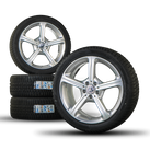 Mercedes Benz 19 inch CLS C257 winter complete wheels winter tires winter