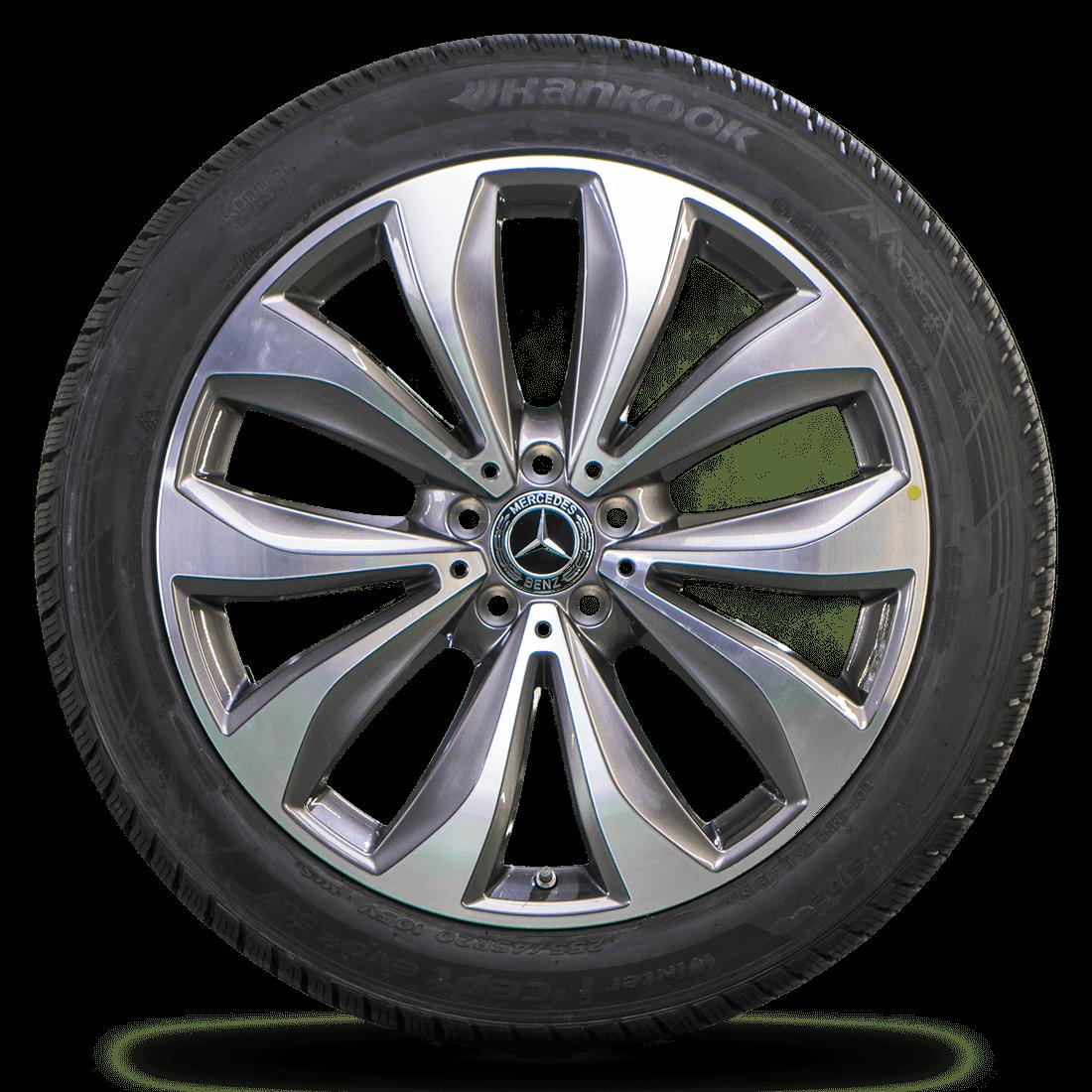 Mercedes 20 Zoll GLC X253 C253 Felgen Winterreifen Winterräder A2534012300 NEU