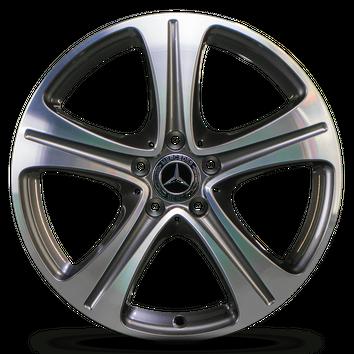 4x Mercedes 18 Zoll E-Klasse W213 C238 A238 Alufelgen Felgen A2134011400 NEU – Bild 3