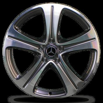 4x Mercedes 18 Zoll E-Klasse W213 C238 A238 Alufelgen Felgen A2134011400 NEU – Bild 4