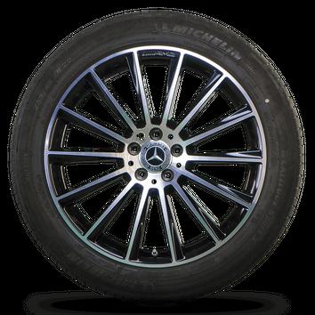 AMG 20 Zoll  Alufelgen Mercedes GLC C253 GLC43 Felgen Sommerräder Sommerreifen – Bild 4