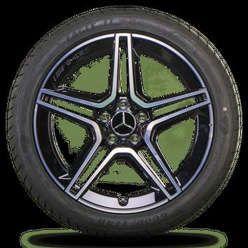 AMG 19 Zoll Felgen Mercedes CLS W257 A2574011500 A2574011600 Sommerreifen NEU – Bild 3