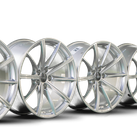 4x Audi 19 inch rims RS4 RS5 B9 8W alloy rims forged wheels 8W0601025CP