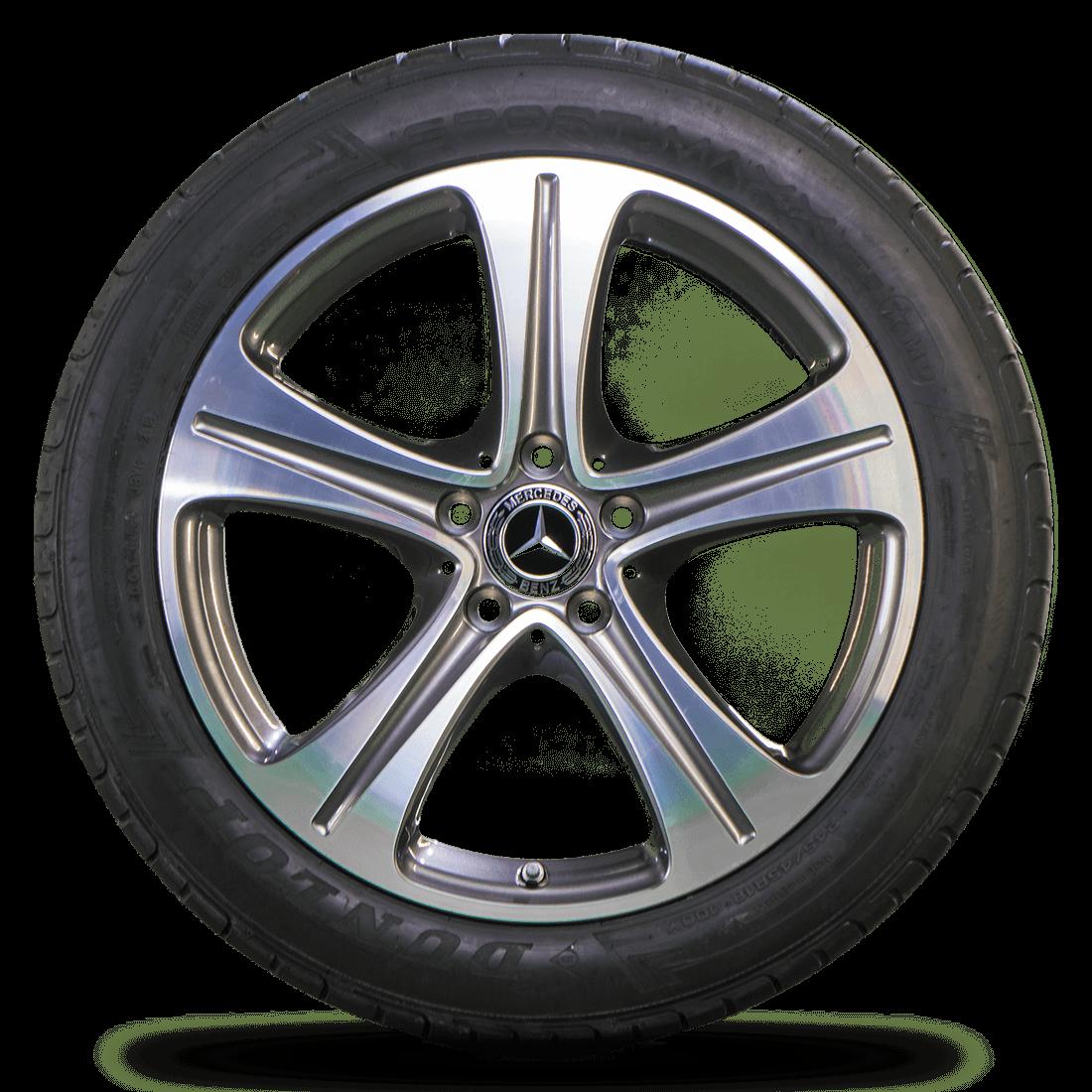 Mercedes 18 inch E-Class W213 W238 rims summer tires summer wheels NEW