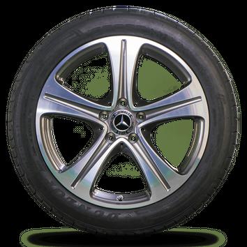 Mercedes 18 inch E-Class W213 W238 rims summer tires summer wheels NEW – Bild 2