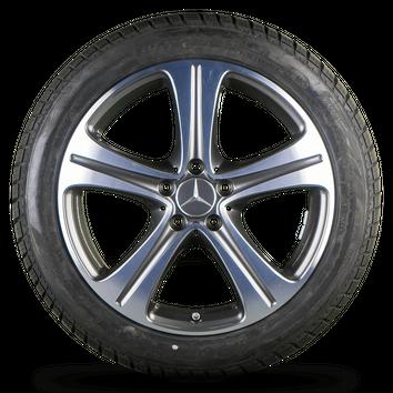 Mercedes 18 inch E-Class W213 S213 C238 A238 alloy rims winter tires NEW – Bild 2