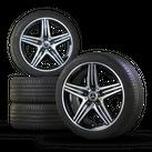 Mercedes Benz 18 inch A45 AMG A250 Sport W176 CLA45 W117 rims summer tires