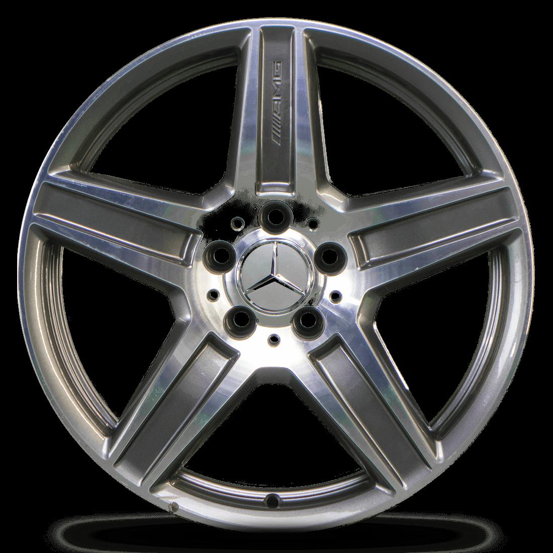 Mercedes Benz Rims >> 1x 18 Inch Amg Rim Mercedes Benz E Class W212 S212 Aluminum Rim A2124012502