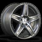 1x 18 Zoll AMG Felge Mercedes Benz E-Klasse W212 S212 Alufelge A2124012602