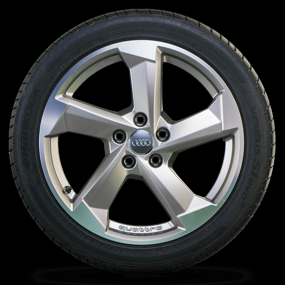 Audi 18 Zoll Felgen A4 S4 B9 8W Alufelgen Rotor Sommerräder 8W0601025CA NEU