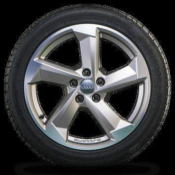 Audi 18 Zoll Felgen A4 S4 B9 8W Alufelgen Rotor Sommerräder 8W0601025CA NEU – Bild 3