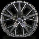 1x Audi 22 Zoll Felge Q7 SQ7 4M Alufelge Titan Matt 4M0601025AG Y- Speichen