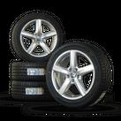 VW 17 inch rims EOS Passat 3C aluminum rims summer wheels summer tires Avignon