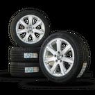 VW 17 Zoll Felgen EOS Passat 3C Alufelgen Sommerräder Sommerreifen Westwood NEU