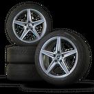 Mercedes Benz AMG 18 Zoll Winterreifen C-Klasse W205 S205 Winterräder Alufelgen