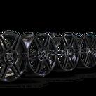 4x AMG 18 Zoll Felgen Mercedes Benz E-Klasse W212 S212 schwarz Alufelgen