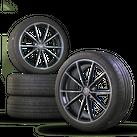 VW 18 inch Golf 7 6 GTI R rims Belvedere Alu wheels summer tires summer wheels