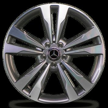 Mercedes 19 inch rims S-Class W222 W217 A2224011302 A2224011402 Aluminum rims – Bild 3