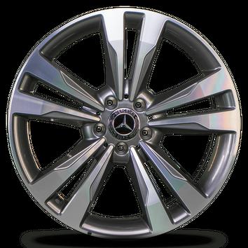 4x Mercedes Benz 19 inch rims E class W212 S212 CLS W218 alloy rims NEW – Bild 4