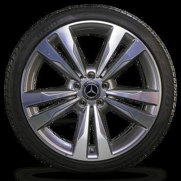 Mercedes 19 Inch E-Class W212 S212 Alloy Wheel Summer Summer tires NEW – Bild 4