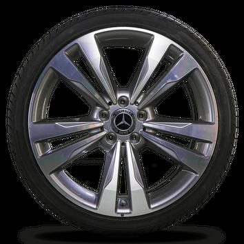 Mercedes 19 Inch E-Class W212 S212 Alloy Wheel Summer Summer tires NEW – Bild 6