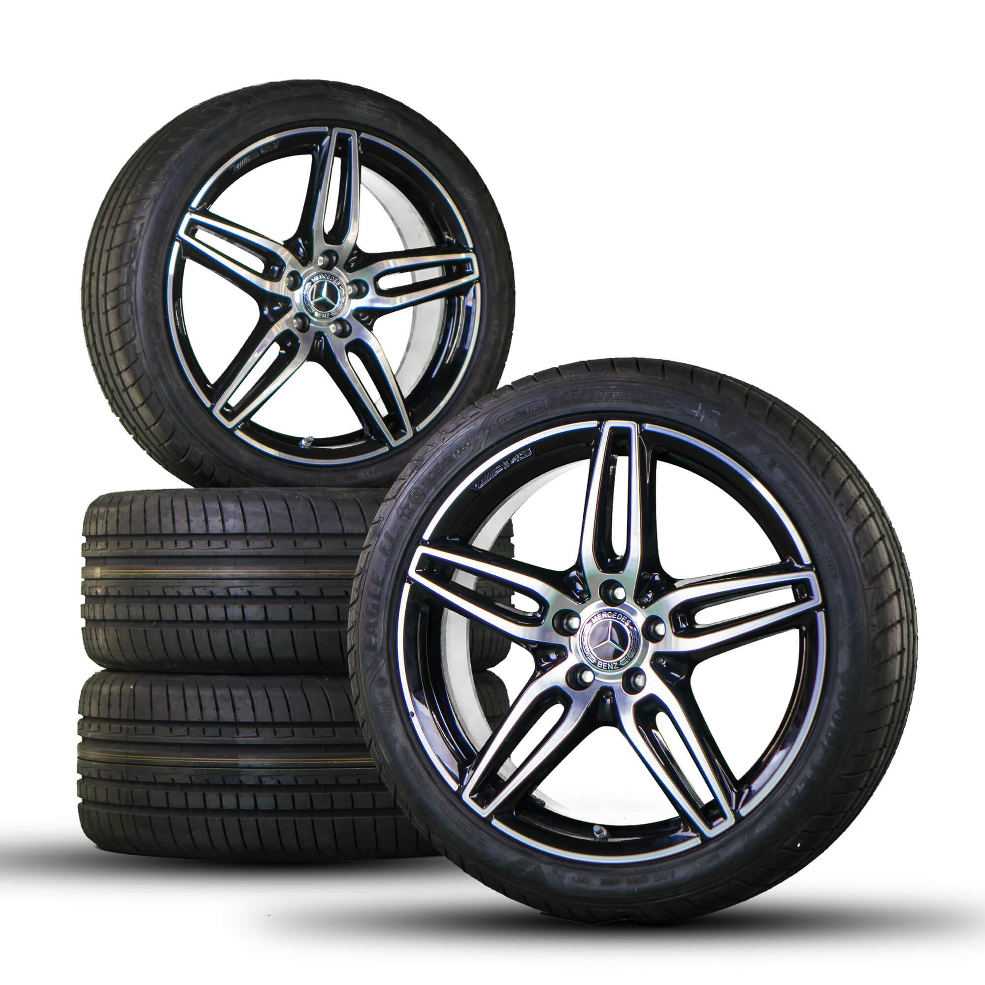 Mercedes Benz Rims >> Details About Amg 19 Inch Mercedes Benz Rims E Class W213 S213 Alloy Rims Summer Wheels New