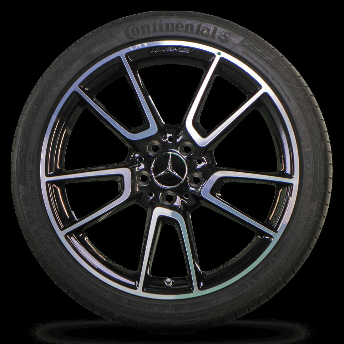AMG 19 Zoll Mercedes Benz C43 C450 Sport W205 Alufelgen Sommerreifen Sommerräder