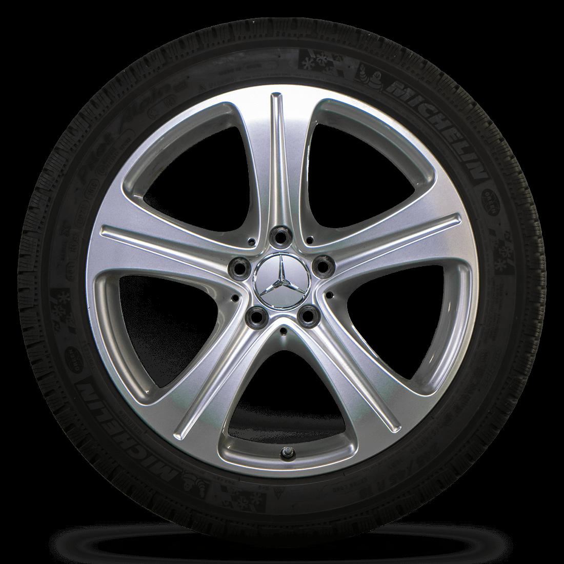 Mercedes 18 inch E-Class W213 C238 Winter Wheels Winter Complete Wheels Winter