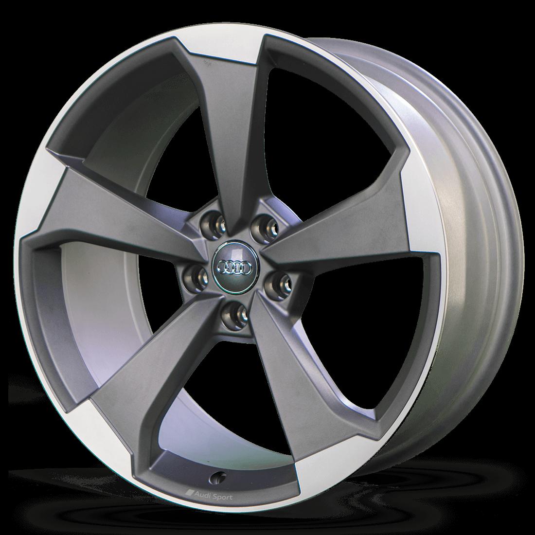 4x Audi 20 Inch Rims A5 S5 8W B9 Alloy Rims Rotor 8W0601025CF S line NEW