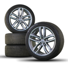 Audi 21 inch rims Q7 SQ7 4M aluminum rims summer tires summer wheels S line