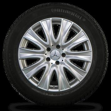 Mercedes Benz 18 Zoll Felgen S-Klasse W222 Alufelgen Winterreifen Winterräder – Bild 3