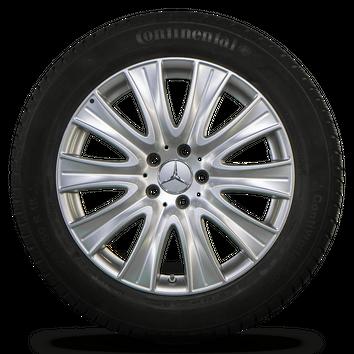 Mercedes Benz 18 Zoll Felgen S-Klasse W222 Alufelgen Winterreifen Winterräder – Bild 5