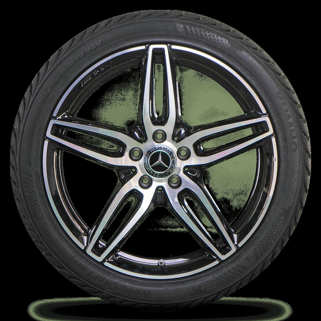 AMG 19 inch rims Mercedes E-class E43 W213 S213 winter tires winter wheels