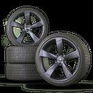 Audi 20 inch aluminum rims RS4 A5 S5 B8 winter tires winter wheels rotor