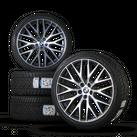 BMW 20 Zoll Felgen 5er G30 G31 Styling 636 Alufelgen Winterreifen Winterräder