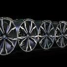 4x BMW 20 Zoll Felgen X2 F39 X1 F48 Alufelgen M717 8,0 x 20 ET 50 8008659