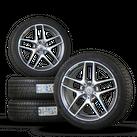19 inch AMG Mercedes rims GLA 45 X156 aluminum rims winter tires winter wheels