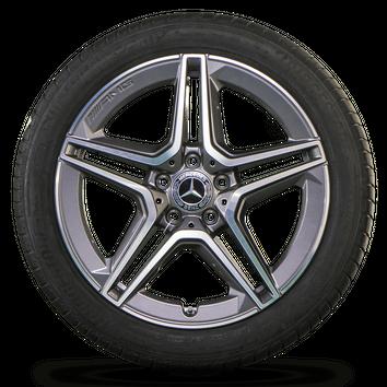 AMG 18 inch rims Mercedes Benz A-Class W177 summer tires summer wheels NEW – Bild 4