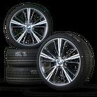 BMW 19 inch rims 1er F20 F21 2er F22 F23 Alu rims Summer tires 660 NEW