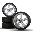 Audi 21 inch rims RS7 S7 A7 4G aluminum rims winter tires Blade winter wheels