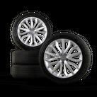 Audi 19 Zoll Alufelgen A6 S6 4G Winterreifen Winterräder Winterkompletträder