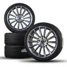 AMG 20 inch Mercedes CLS W257 winter complete wheels winter tires winter bikes