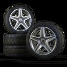 AMG 20 Zoll Alufelgen Mercedes GLE SUV W166 Felgen Winterreifen Winterräder