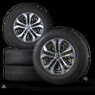 Mercedes Benz GLC X253 17 inch aluminum rims rims winter tires winter wheels