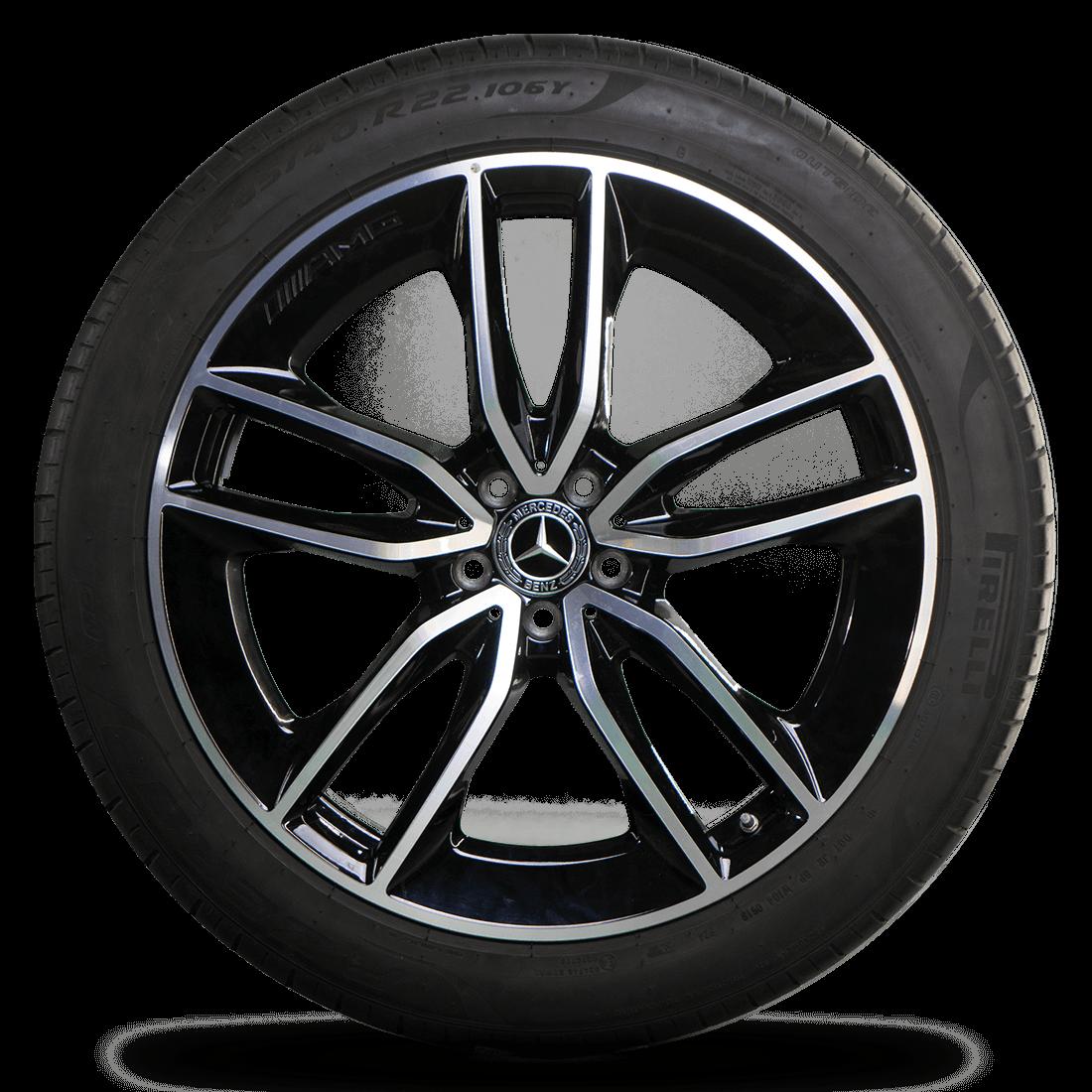 22 Inch Tires >> Amg 22 Inch Rims Gle W167 V167 Alloy Rims Summer Summer Tires