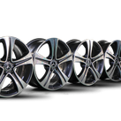 Mercedes 17 inch rims E-class W213 S213 A238 C238 aluminum rims A2134011200 NEW