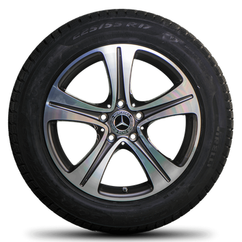 Mercedes 17 inch rims E-Class W213 W238 Pirelli winter tires winter wheels NEW – Bild 2