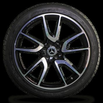 AMG 21 Inch Mercedes GLC 43 X253 C253 W253 Alloy Wheel Rims Summer Tires NEW – Bild 3