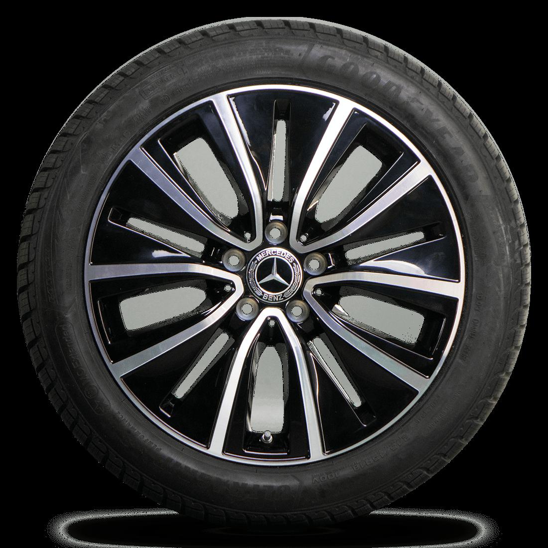 18 Inch Tires >> Mercedes 18 Inch Rims Cls C257 W257 Aluminum Rims Moe Winter Tires Winter